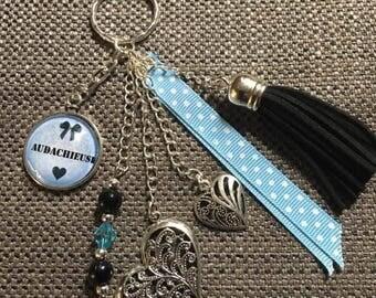 """key / jewelry bag """"audachieuse"""""""