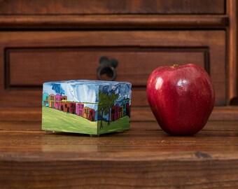 Caja, Box, Serie Pueblitos, ITARTI, #ITARTIartesanal #ITARTIsignificando