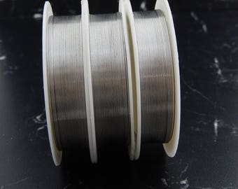 Wire silver plated copper 15 meter, 0, 4mm