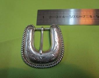 nickel-plated metal fancy belt buckle