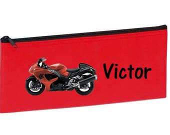 Red bike personalized with name package