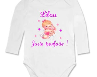 Perfect Bodysuit personalized with name