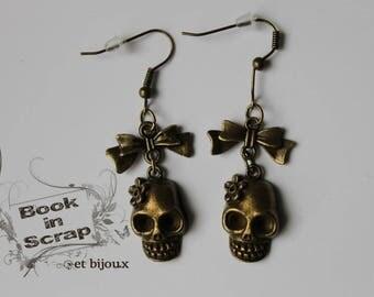 """Earring """"death's head"""""""