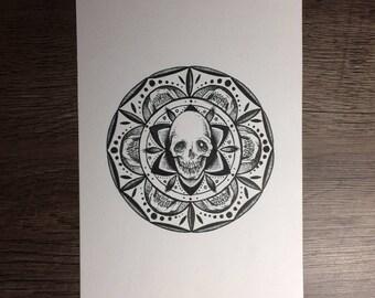 Mandala (original drawing)