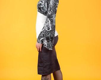 straight skirt with pockets original