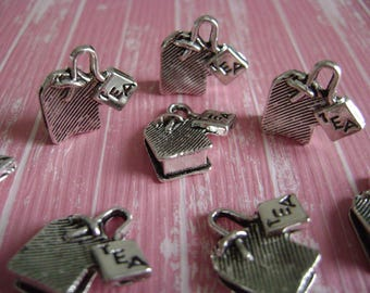 3D tea bag charms