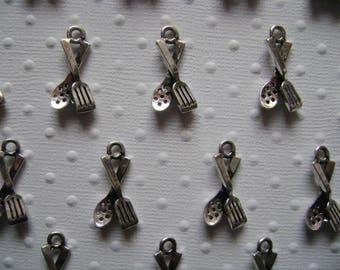 Kitchen utensil charms