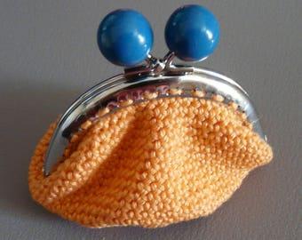 handmade crochet coin purse