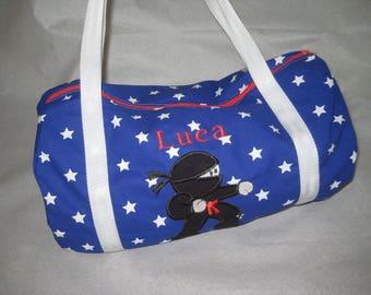 Judo embroidered bag - custom