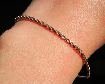 Sparkling bracelet silver Vermeil star