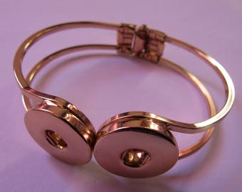 Bracelet Golden 2 pressure 18mm / 20mm