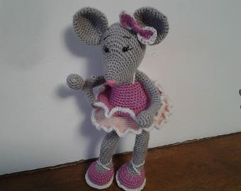 room decoration mouse ballerina