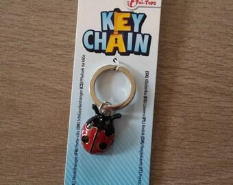 Ladybug Keyring lucky charm