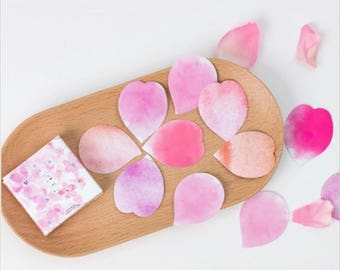 Rose petals stickers