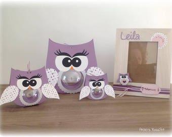 frames owls mam' Missy bou 2pcs for 9x13cm photo