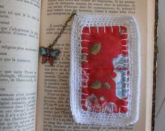 Fragrant bookmark with butterfly