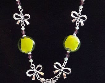 """""""HUMMINGBIRD"""" necklace... it's ready to take off!"""
