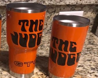 Custom painted tumblers