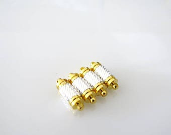 4 Fermoisr magnetic, silver and gold