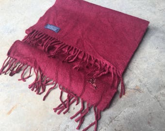 Saleeee!!!vintage burberry's scarves cashmere-red-england