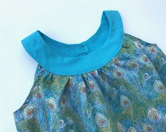 summer dress 4t - girl Liberty Hera, model Agathe