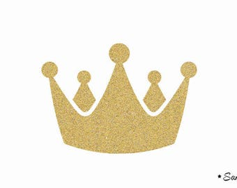 crown prince Royal applique Thermo flex gold model 2