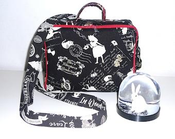 Alice Wonderland country suitcase