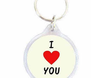 Keychain i love you