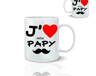 I love my grandpa - ceramic mug to mug 325 ml