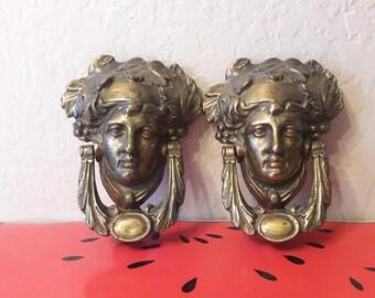 Antique Athenian doorknockers