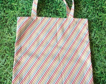 tote bag scratching multicolor