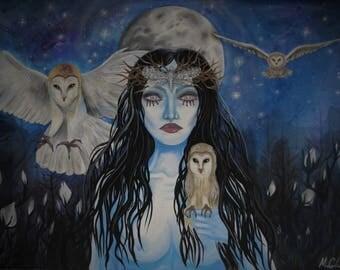 Nocturnal Dreams Lustre Print
