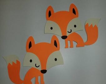 Woodland Fox Cutouts