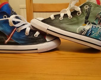 Starwars shoes Converse