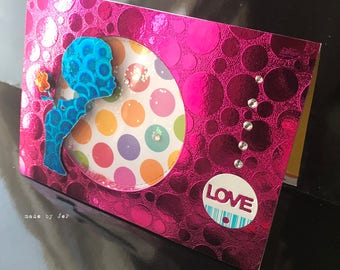"""card to simple """"love..."""