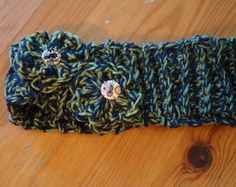 Wool blended head band