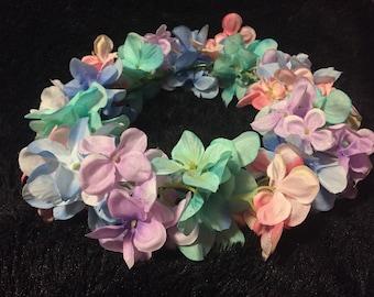 pastel (wire) flower crown