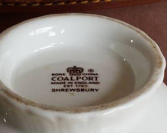 Coalport Ming Rose Short Vase Bone China