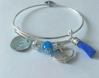 Adjustable Bangle Bracelet.