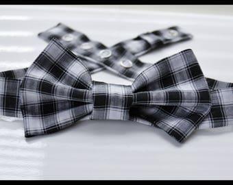 Bowtie ' original, handmade, upcycled fabric!