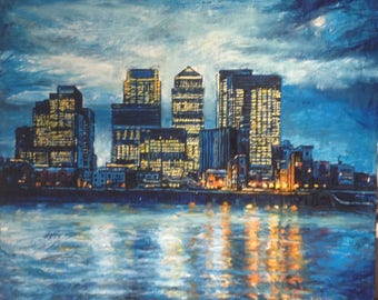 Canary Wharf Reflections