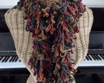 very cool scarf made in several shades