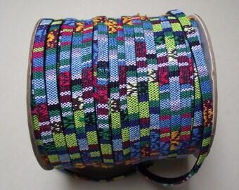 2 fabric flat cord 5 meters x 2 mm.