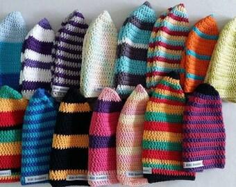 Crochet Surf Beanie for kids, women and men