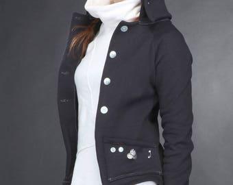 Albatross jacket black size XS/34