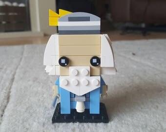 Dumbledore Lego Brickheadz style figure