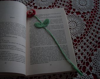 Lovely flower bookmark