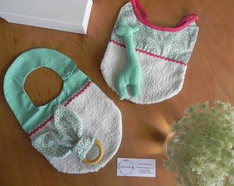 BABY'BOX O'Adele - Mint & Fuchsia thread
