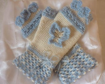 Accessories: fashion women mittens warm and delicate