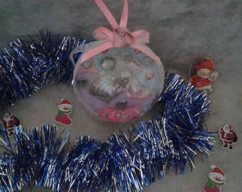 Made of plastic Christmas ball